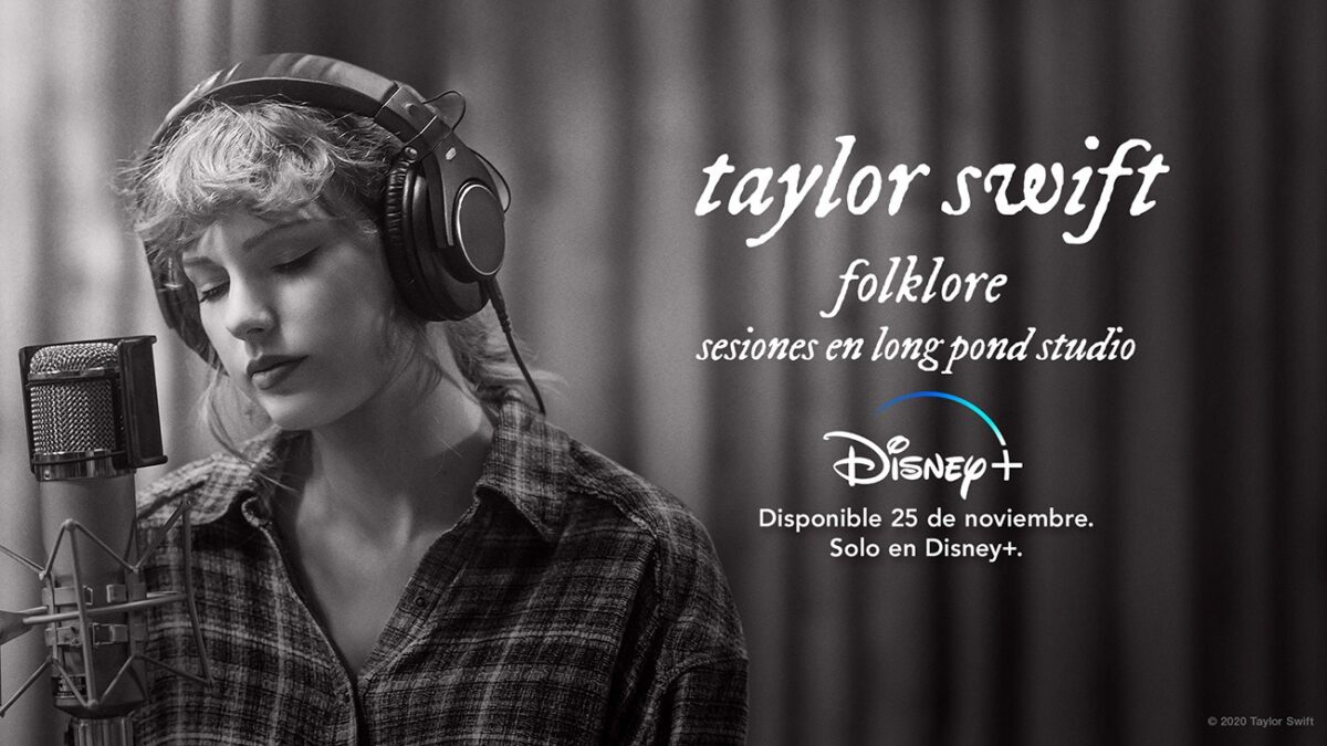 FOLKLORE: SESIONES EN LONG POND STUDIO DE TAYLOR SWIFT ESTRENA MAÑANA EXCLUSIVAMENTE EN DISNEY+